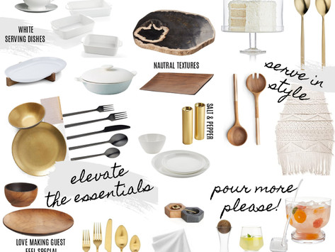 HOW TO: DECORATE YOUR TABLE FOR THANKSGIVING (OR ANY HOLIDAY DINNER)