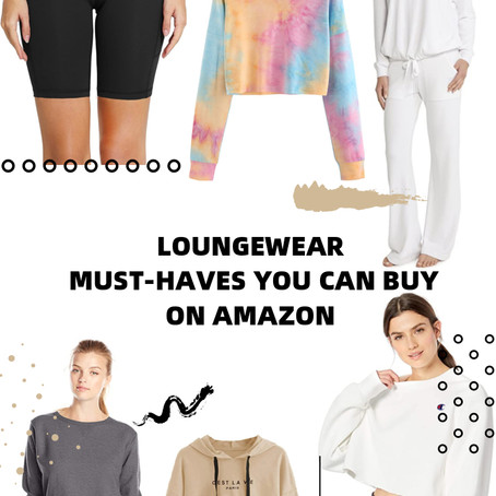 LOUNGEWEAR MUST-HAVES YOU CAN BUY ON AMAZON