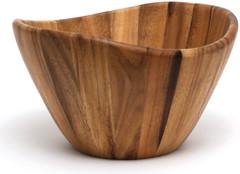 Acacia Wave Serving Bowl