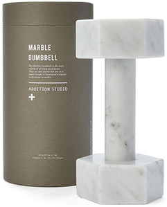 PAGE THIRTY Marble Dumbbells.