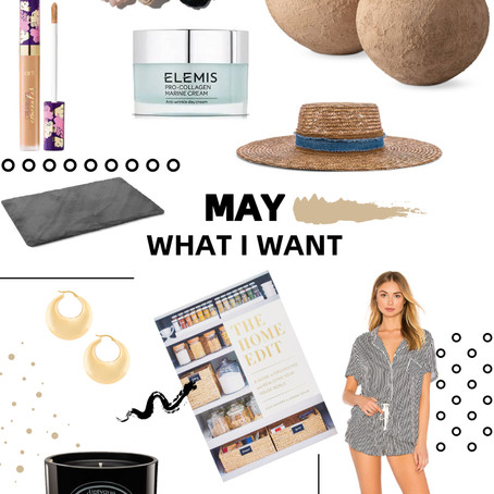MAY- WHAT I WANT
