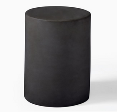 Spool Ceramic Side Table