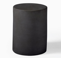 Spool Ceramic Side Table