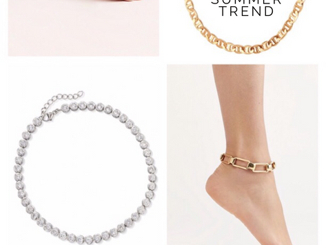 THE LATEST SUMMER TREND: ANKLETS