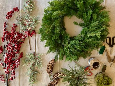 Woodland Wreath DIY