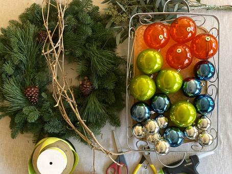 Colorful Euro Inspired DIY Wreath
