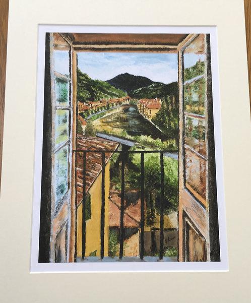 Bagna di Lucca Giclee print