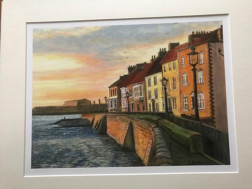 Hartlepool Headland Giclee Print