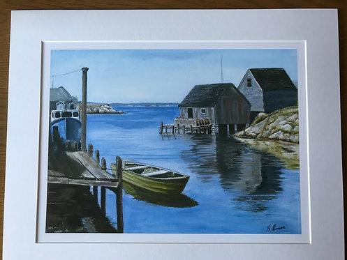 Peggy's Cove Giclee Print