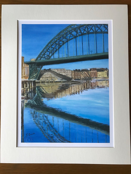 Tyne Bridge Giclee Print