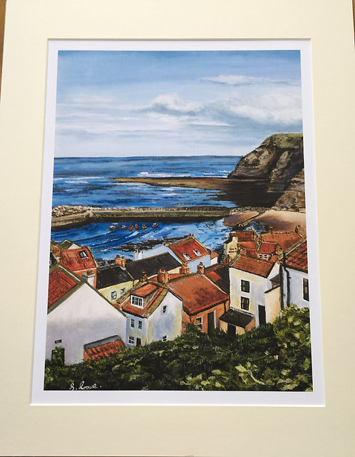 Staithes Giclee print