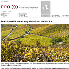 Radio rro, Diego Mathier, Schweizer Weingut des Jahres