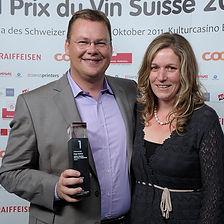 Diego Mathier, Schweizer Winzer des Jahres, Winzer des Jahres, bester Schweizer Weinkeller des Jahres