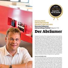 Vinum Magazin, Diego Mathier, Schweizer Winzer des Jahrzehnts