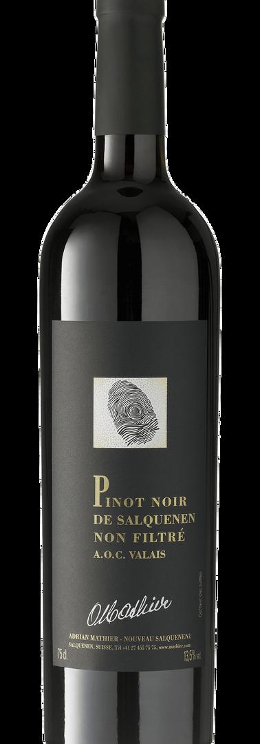 Pinot Noir de Salquenen Non filtré Oskar Mathier AOC VS