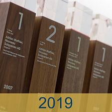 Auszeichnungen 2019 Adrian & Diego Mathier Nouveau Salquenen AG