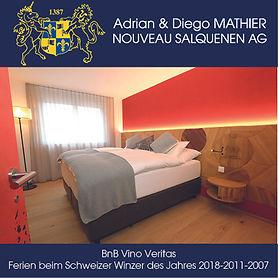 BnB Vino Veritas Salgesch, Diego Mathier