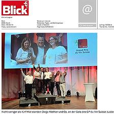 Blick.ch, Diego Mathier, Schweizer Weingut des Jahres