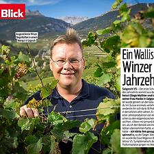 Blick, Diego Mathier, Schweizer Winzer des Jahrzehnts