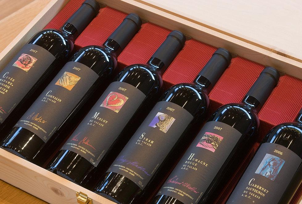 Weingeschenke, Weinpräsent, Weinkorb, Geschenkgutschein, Diego Mathier, Schweizer Winzer des Jahres