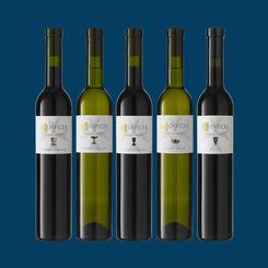 HOSPICES DE SALQUENEN - Weingeschichte in der 50cl Flasche