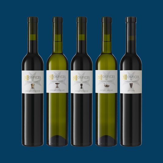 HOSPICES DE SALQUENEN - Weingeschichte in der 50cl Flasche / Histoire viticole en bouteille 50 cl