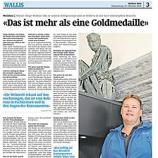 Walliser Bote, Diego Mathier, Schweizer Winzer des Jahrzehnts
