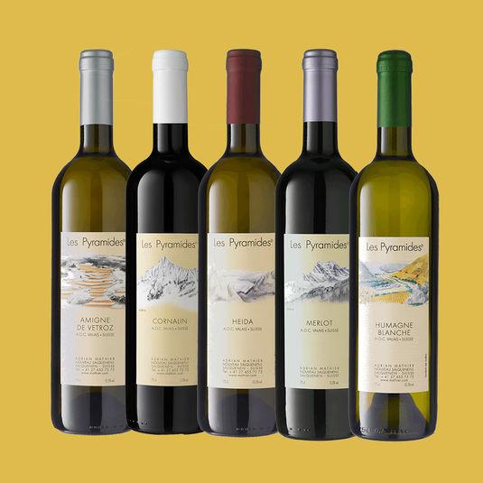 LES PYRAMIDES - Spitzentropfen aus Grand Cru Lagen / Vins exceptionnels du terroirs des Grands Cru
