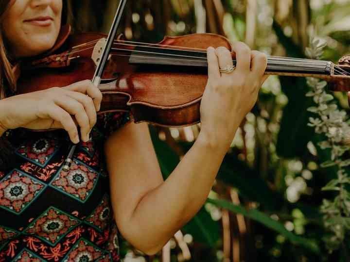 violinista em casamento