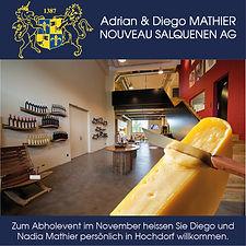 Abholevent Salgescher Weinkeler Mathier & Bachmann Hochdorf