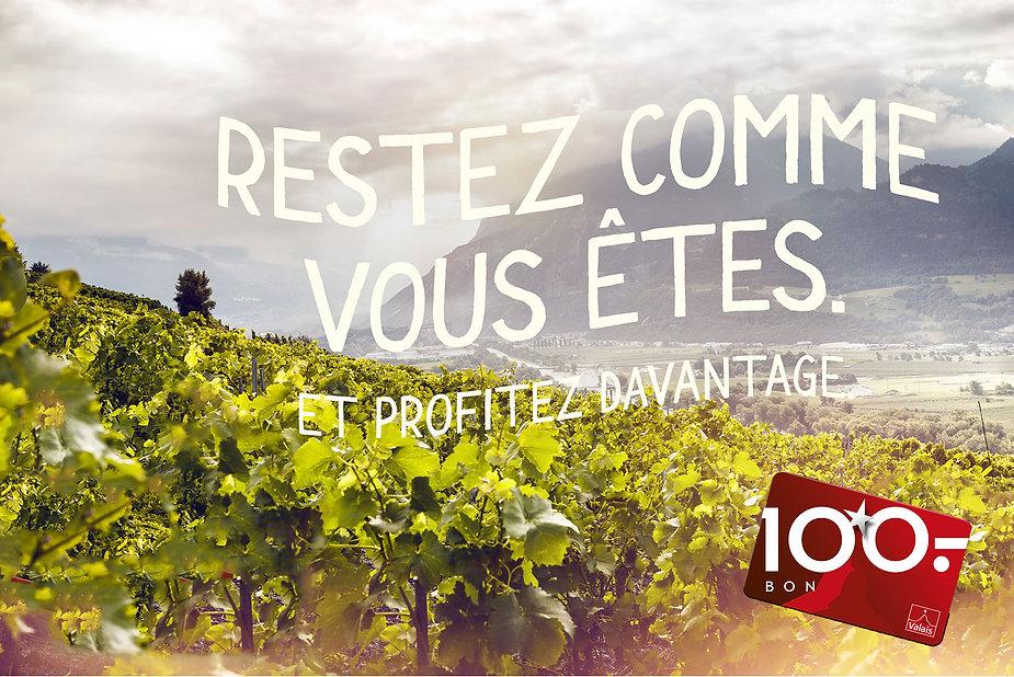 bon cadeau CHF 100, canton du Valais, Adrian & Diego Mathier Nouveau Salquenen AG, BnB Vino Veritas, Restaurant Barrique