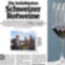 Sonntags Blick, Merlot Nadia Mathier beliebtester Schweizer Rotwein, Diego Mathier, Schweizer Winzer des Jahres