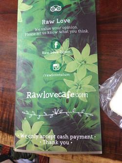 Raw Love Bcard