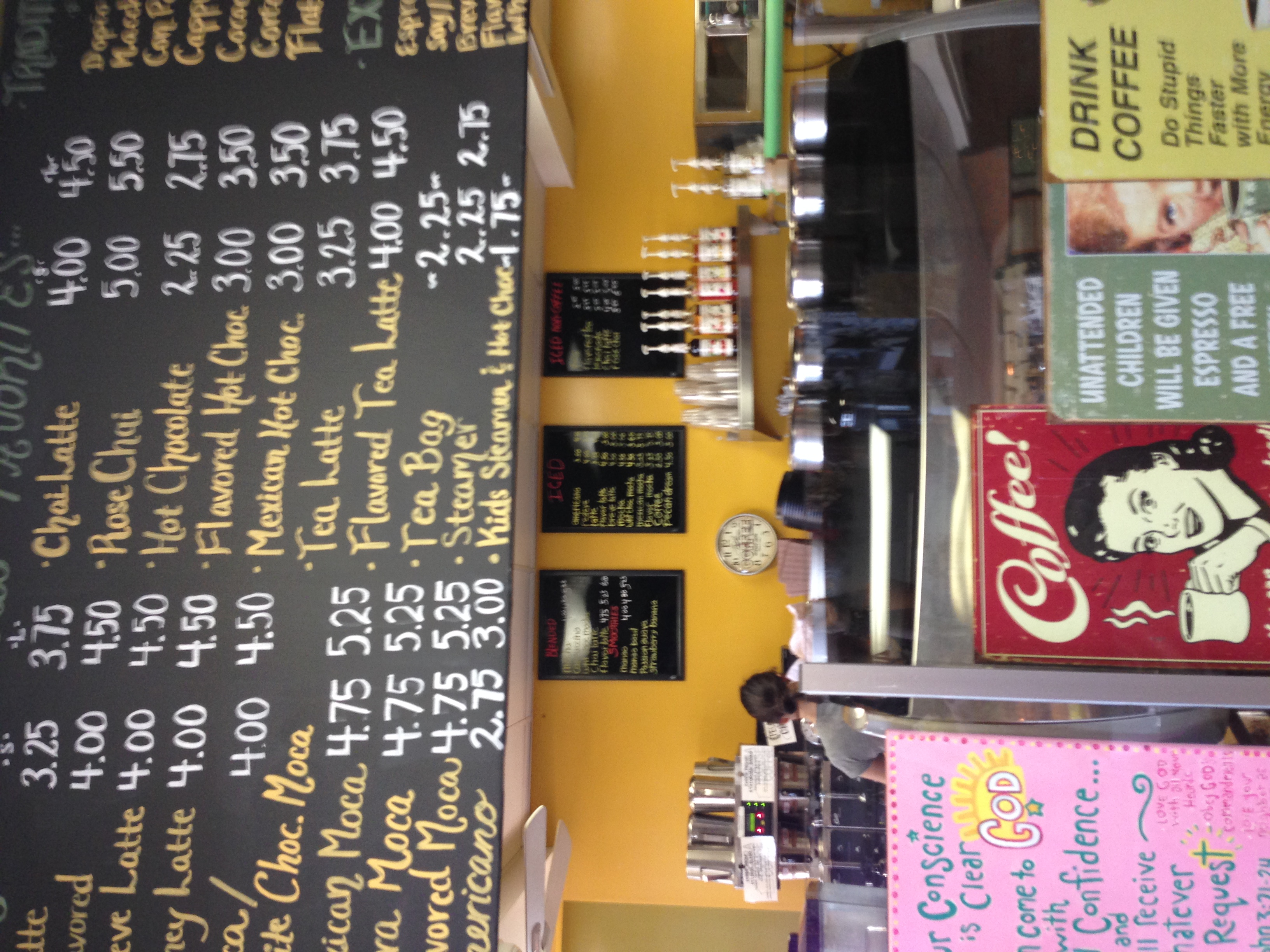 San Clemente coffee healthy bar