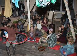 trilogy full moon drum circle