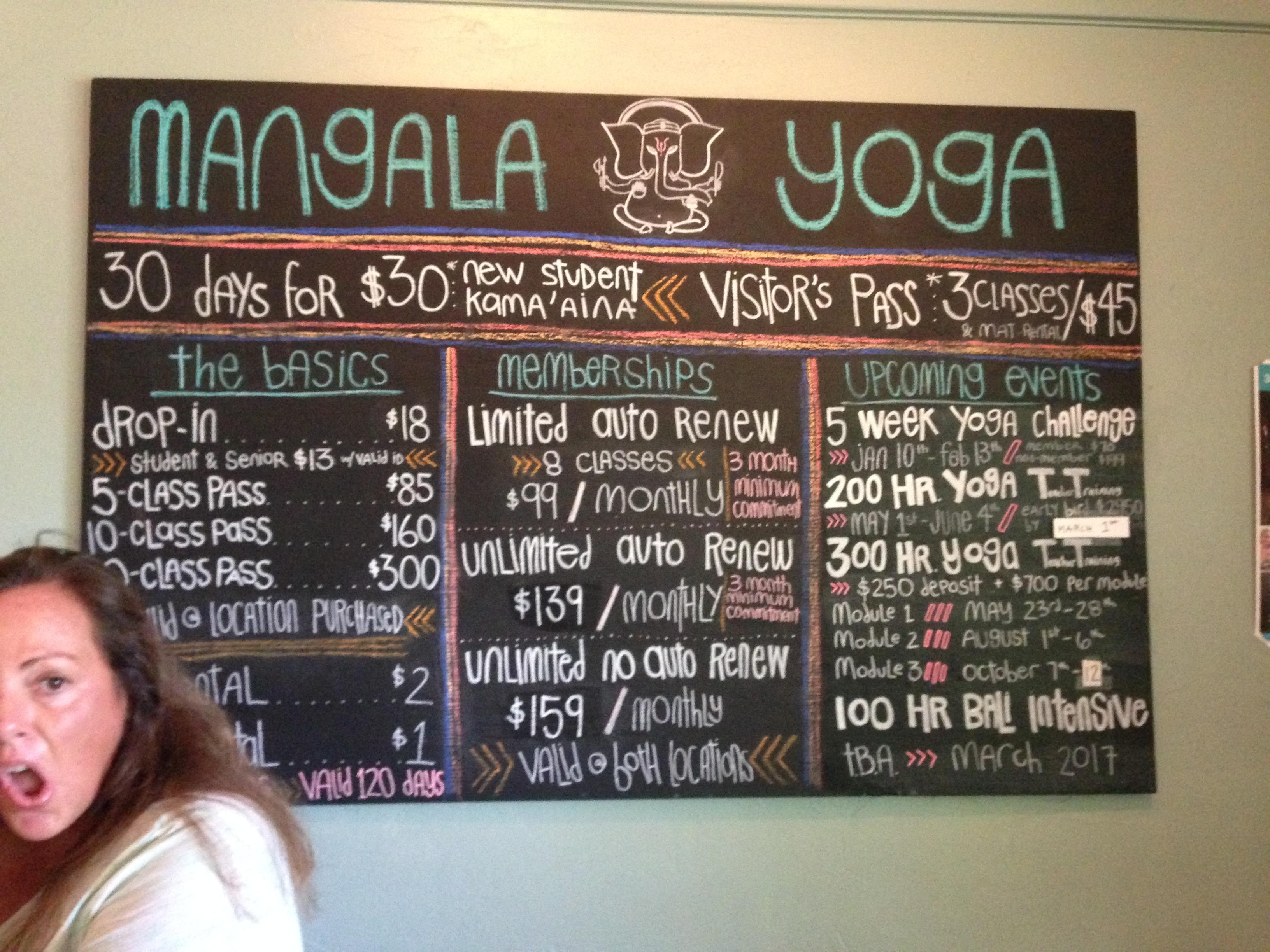 Mangala Yoga in Makawao
