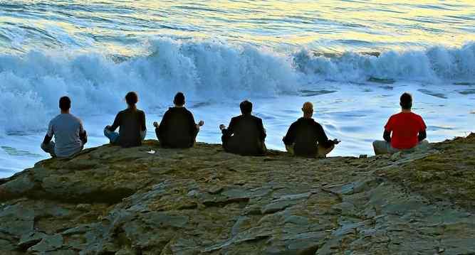 meditation on the cliffs