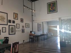 Art cafe in Tulum