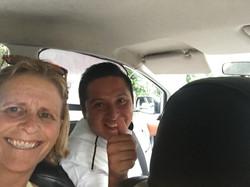 My savior taxi driver!