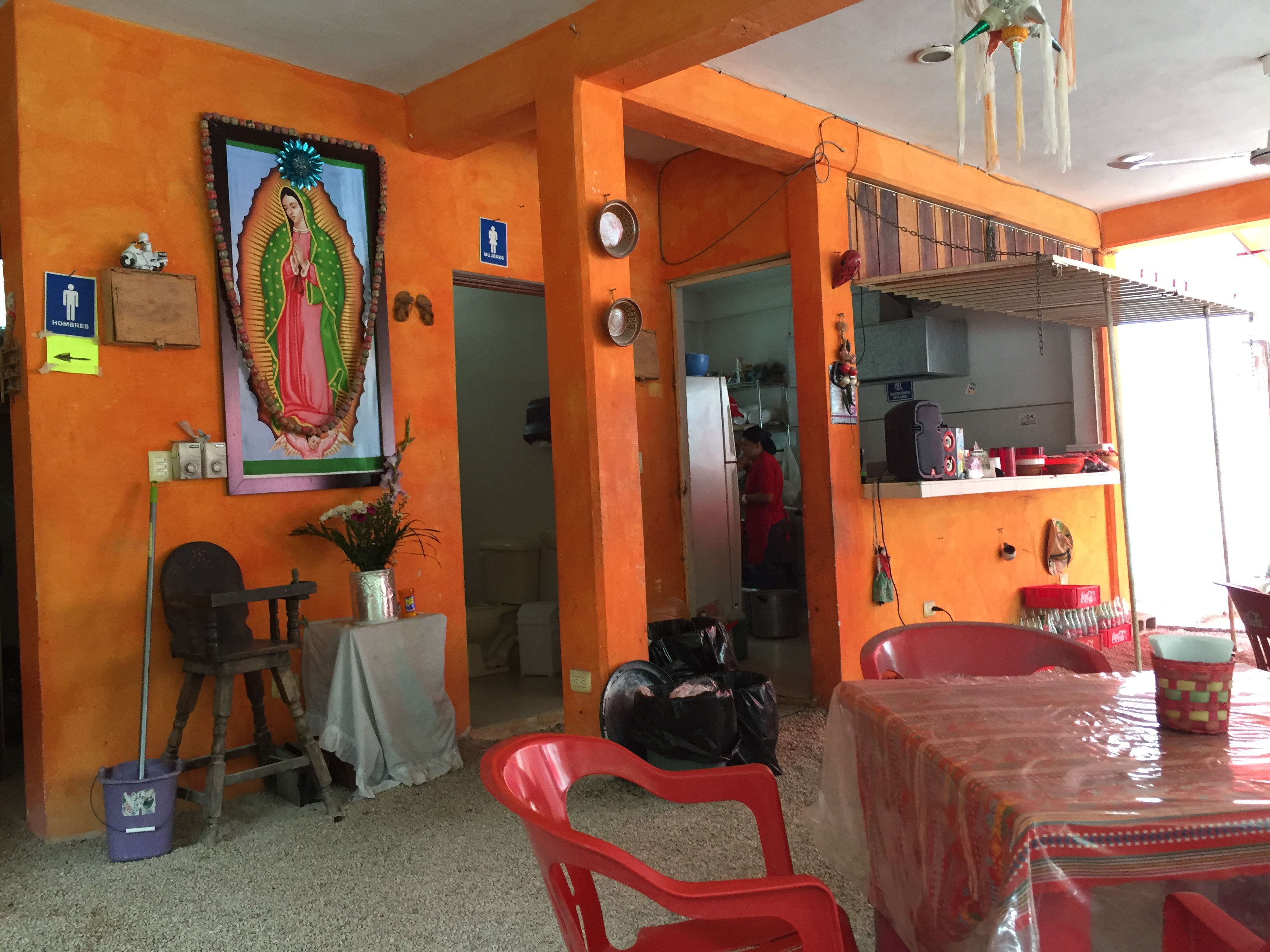 Local Tulum lunch spot