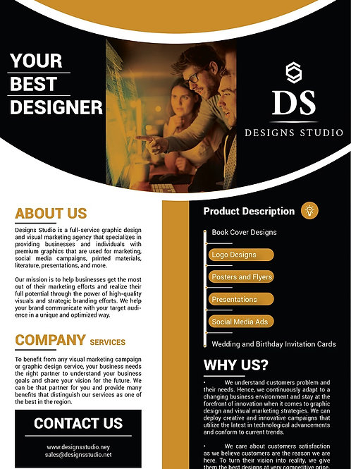 Professional Posters and Flyers Design