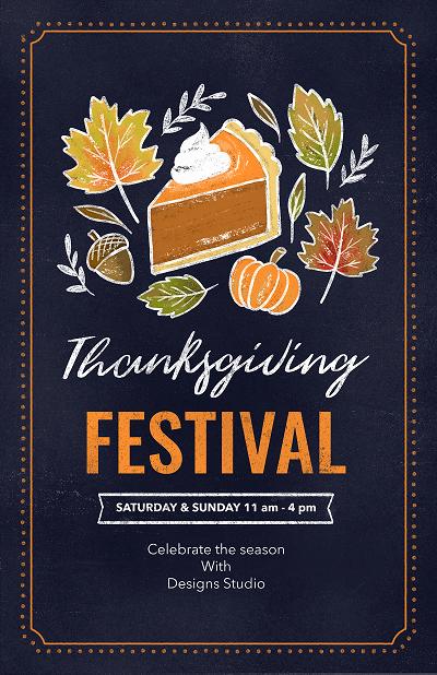 flyer-maker-for-a-thanksgiving-festival-