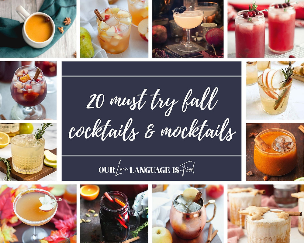Collage showing the 12 must try summer cocktails being featured in this article.