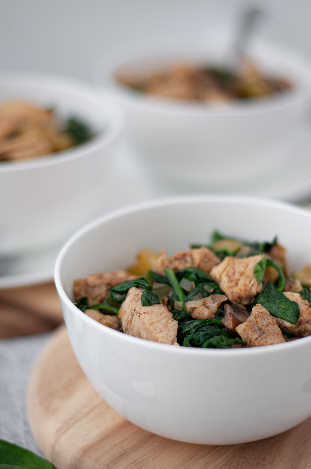 Close up of a bowl of this healthy dinner recipe served up and ready to eat