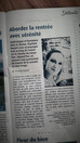 "Chronique Sophrologie - Magazine ""Le 7"""