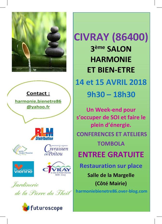 Salon Harmonie & Bien-Etre - Civray (86)