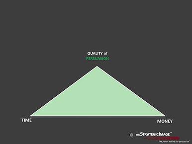 A short, squat isoceles triangle