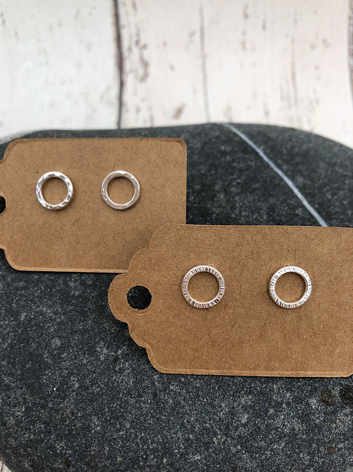 Hoop Studs - Small