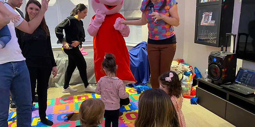 Sunday the 1st of November themed peppa event