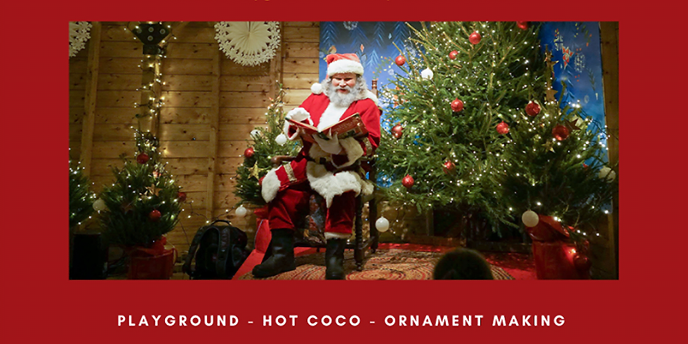 Sunday the 15th of November Santa Claus Grotto